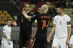 Belanda menang tipis 1-0 atas Latvia